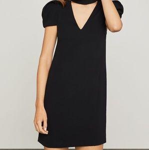 BCBGMaxAzria Dresses - NWT BCBG MAXAZRIA PUFFY SLEEVE MINI SHIFT DRESS